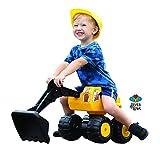 4ever Spiel Sitzbagger Sitting-Bull Kinderbagger Bulldozer Bagger Rutschauto Sandbagger
