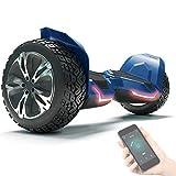 8.5' Premium Offroad Hoverboard Bluewheel HX510 SUV Deutsche Qualitäts Marke- Kinder Sicherheitsmodus & App - Bluetooth - Starker Dual Motor - Elektro Skateboard Self Balance Scooter
