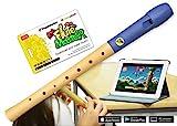 Kinder-Blockflöte aus Holz und Kunststoff inkl. Lernsoftware (Voggenreiter)