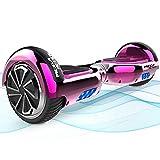 Mega Motion Hoverboards, Hoverboard Kinder, 6,5 Zoll Selbstausgleichendes Zweirad-Hoverboard mit Bluetooth-Lautsprecher-Hoverboards für Kinder im Alter von 8-12 Jahren Beste Jungen Mädchen Geschenke