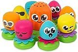 Okto Plantschis - Lustiges Wasserspiel für Babys ab 1 Jahr (TOMY)