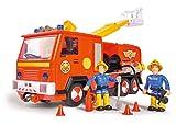 Feuerwehrmann Sam Jupiter Feuerwehrauto mit Licht und Sound (Simba)