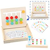 Sunarrive Montessori Spielzeug Holz Puzzle Sortierbox Lernspiele - Holzpuzzle Spiel - Sortierspiel Holzspielzeug - Logikspiele - Pädagogisches Spielzeug - Denkspiele für Kinder ab 3 4 5 Jahre