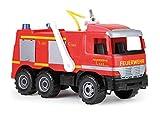 Kinder-Feuerwehrauto mit 8-Meter-Wasserkanone: geeignet für draußen (SIMM Spielwaren)