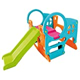 FEBER Famosa 800010247 - Activity Center - Aktivitätszentrum mit Spielzeugrutsche, für Kinder von 2 bis 7 Jahren