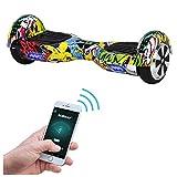 Buntes Kinder-Hoverboard mit Samsung-Marken-Akku und 700 Watt Motorleistung (Robway)
