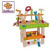 Eichhorn 100001844 Werkbank Spielzeug, Bunt