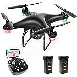 SNAPTAIN SP600 Drohne mit Kamera 720P HD, 30 Minuten Flugzeit, Live Übertragung WiFi FPV RC Quadcopter,120° Weitwinkel, Hochhaltung, 3D VR, 360°Flips, Flugbahnflug, Kopfloser Modus
