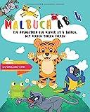 Ausmalbuch mit Tiermotiven ab 4 Jahren (Farbenfroh Ausmalbücher)