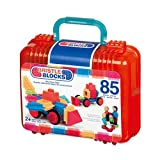 85 Bristle Blocks - Bausteine für Kinder ab 2 (B. Toys)