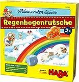 HABA 304188 - Meine ersten Spiele  Regenbogenrutsche, kooperatives Spiel ab 2 Jahren zum Kennenlernen der ersten Zahlen und Farben