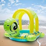 XIAOM Baby Kinder aufblasbare schwimmring Float sear schildkröte Form Sonnenschirm Wasser schwimm Pool Ringe für Kind Kinder Kinder Erwachsene Wasser Spielzeug