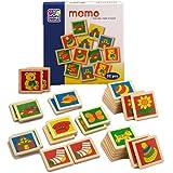 Erstes Memory-Spiel aus Holz mit bunten Motiven (Happy People)