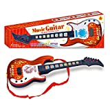 Likeluk Kinder Gitarre Spielzeuggitarre Geeignet fr Kinder ab 3 Jahre