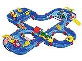 AquaPlay AquaPlaynGo - 160x145x22cm groe Wasserbahn, grte Wasserwelt von AquaPlay, inkl. 4 Tierfiguren und 4 Booten, fr Kinder ab 3 Jahren