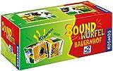 Soundwürfel Bauernhof - Lernspielzeug mit Geräuschen von Pferd, Schaf, Kuh, Gans etc. (KOSMOS)