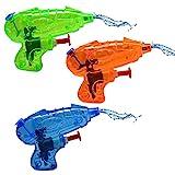 8X Mini Spritzpistole für Kinder im Set | Bunte Wasserpistolen aus Plastik in Premium Qualität| Wasser-Spritzpistole Watergun für Wasserspiele im Sommer | ideal als Wasserspielzeug & Mitgebsel