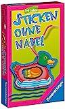 Sticken ohne Nadel - Sticken lernen für 3-Jährige (Ravensburger)