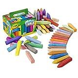 48 bunte Straßenkreiden (Crayola-Outdoor)