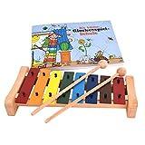 Xylophon für Kinder in C-Dur mit Glockenspielschule (Voggenreiter)