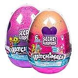 Hatchimals 6047125 - CollEGGtibles Secret Surprise Spielset mit 3 exklusiven Hatchimals - Figuren (6 verschiedene Sets)