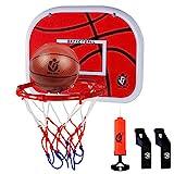 Dreamon Basketballkorb fürs Zimmer , Kinder Mini Basketball Korb Set mit Ball Netz und Luftpumpe Indoor-Sportspielzeug