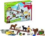 SCHLEICH 98271 Spielset - Adventskalender Farm World 2021 (Farm World), Mix