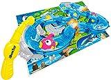 iBaseToy Angelspielzeug FüR Kinder Rotierendes Kleinkinder Interaktives Spielzeug MäDchen Lernspiel Jungen Badespielzeug Mit Wasserspur Fischen FischstraßEn Badewanne Yard Pool Party Fischspielzeug