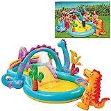 Intex Dinoland Play Center - Kinder Aufstellpool - Planschbecken - 333 x 229 x 112 cm - Fr 3+ Jahre
