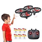 Tomzon kollisionssichere Kinderdrohne RC-Quadrocopter