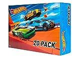 Hot Wheels DXY59 20er Pack 1:64 Die-Cast Fahrzeuge Geschenkset, je 20 Spielzeugautos, zufällige Auswahl, ab 3 Jahren [Exklusiv bei Amazon]