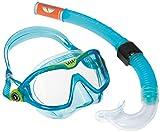 Aqua Lung Sport Kinder-Schnorchel-Set mit Tauchmaske und Schnorchelrohr Einheitsgre Blau - Aqua