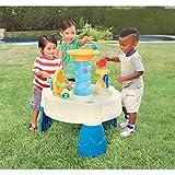 Little Tikes Spiralin' Seas Wassertisch - Gartenspiel - Fördert aktives und fantasievollen Spielen - Inklusive 5 Bälle und 1 Becher - Für Kleinkinder von 24 Monaten bis 6+ Jahren