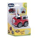 Feuerwehrauto für Kleinkinder mit Pull-Back-Funktion (Chicco)