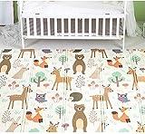 Teppich Kinder Krabbelmatte Spielmatte Babymatte Große Wasserdicht Baby Krabbeldecke Schaumstoffmatte Faltbare Matte Wasserdicht Tragbar Geeignet für Kinderzimmer (A#, 150 * 200 CM)
