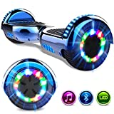 Kinder-Hoverboard mit LED-Leuchten und 2 kraftvollen 350W-Motoren (GeekMe)