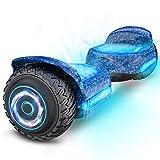 """Gyroor Hoverboard für Kinder Hoverboard Offroad 6.5"""" Self Balancing Scooter SUV mit Bluetooth-Musiklautsprecher & Bunte LED Lichter Premium Hoverboard von 20-120kg Belastet 500W"""