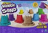 Kinetic Sand im Geschenkset mit Burgenförmchen (Kinetic Sand)