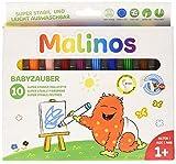 10 stabile Fasermaler - Babyzauber für 2-Jährige (Malinos)