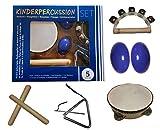 Orff-Instrumente für Kinder: Tabourin, Triangel, Egg-shaker und mehr (dresden concerts)