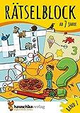 Rtselblock ab 7 Jahre, Band 1, A5-Block: Kunterbunter Rtselspa: Labyrinthe, Fehler finden, Kreuzwortrtsel, Punkte verbinden u.v.m. (Rtseln, knobeln, logisches Denken, Band 632)