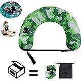 Pecosso Multifunktionaler Schwimmgürtel, Training Schwimmhilfe für Kinder von 3-6 Jahre, Gewicht tragen bis 100 kg Körpergewicht,Tragbares Nackenkissen/TailleKissen für die Kinder und Erwachsene