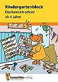 Kindergartenblock 'Das kann ich schon!' (Hauschka Verlag)