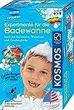 KOSMOS 657833 Experimente fr die Badewanne, Experimentier-Spa mit Seifenboot, Wasserrad und Taucherglocke, Forscher-Set, Experimentierset fr Kinder, Badewannen-Spielzeug ab 6 Jahre