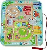 Magnetspiel Stadtlabyrinth - schult die Logik und Feinmotorik (HABA)