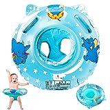 StillCool Baby Schwimmring Verstellbare Aufblasbare aufblasbare Schwimmen Float Kinder Schwimmring Schwimmtrainer fr Kinder 6 Monate bis 36 Monate (Blau-1)