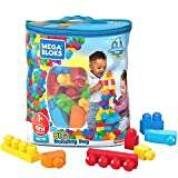 Mega Bloks - 80 große bunte Bausteine aus Kunststoff  (MEGA)