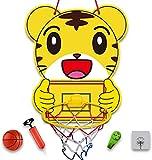 Lbsel Indoor Mini Basketballkorb Set für Kinder Basketballkorb für Tür , Wand mit komplettem Zubehör - Basketballspielzeug mit Bällen Geschenke für Jungen