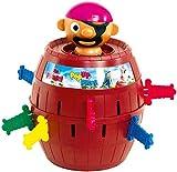 TOMY Kinderspiel 'Pop Up Pirate', Hochwertiges Aktionsspiel fr die Familie, Piratenspiel zur Verfeinerung der Geschicklichkeit Ihres Kindes, Gesellschaftsspiel ab 4 Jahren, Pop up Spiel