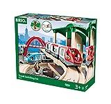 Eisenbahn-Set mit Bahnhof, Brücke und mehr (Brio)